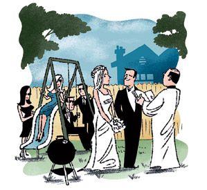 How to Plan a Backyard Wedding Amy Nolf