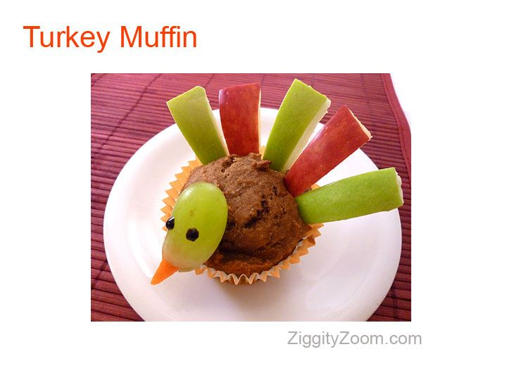 115 best fun thanksgiving treats images on pinterest thanksgiving snacks crafts for kids and - Muffins fur kindergarten ...
