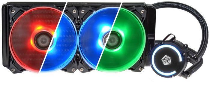 Id Cooling Auraflow 240 Aio High Performance Cpu Liquid Cooler Review Cooler Reviews Cool Stuff