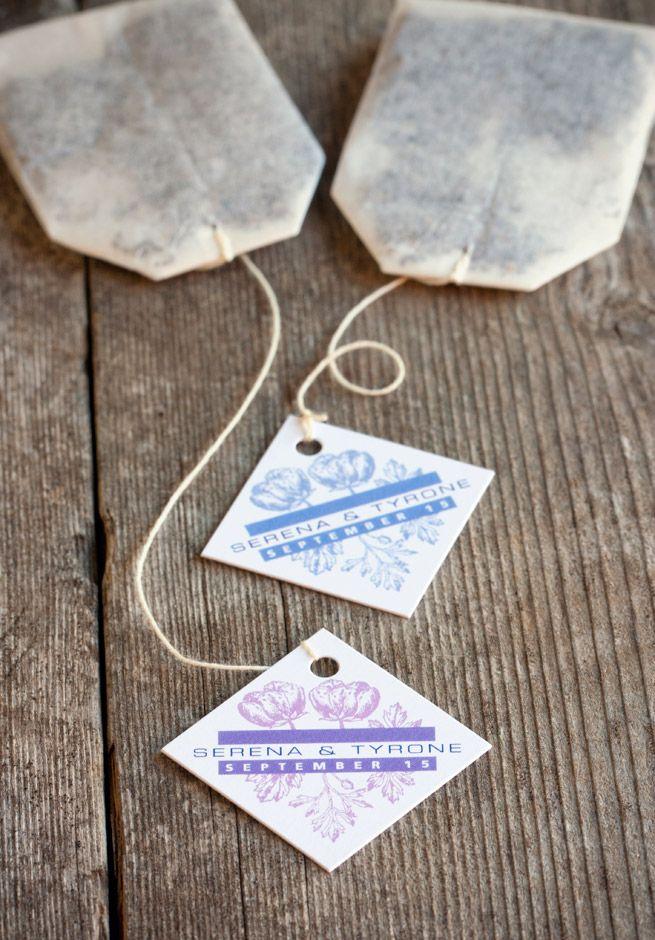 More 1 Wedding Favor Ideas Tea Wedding