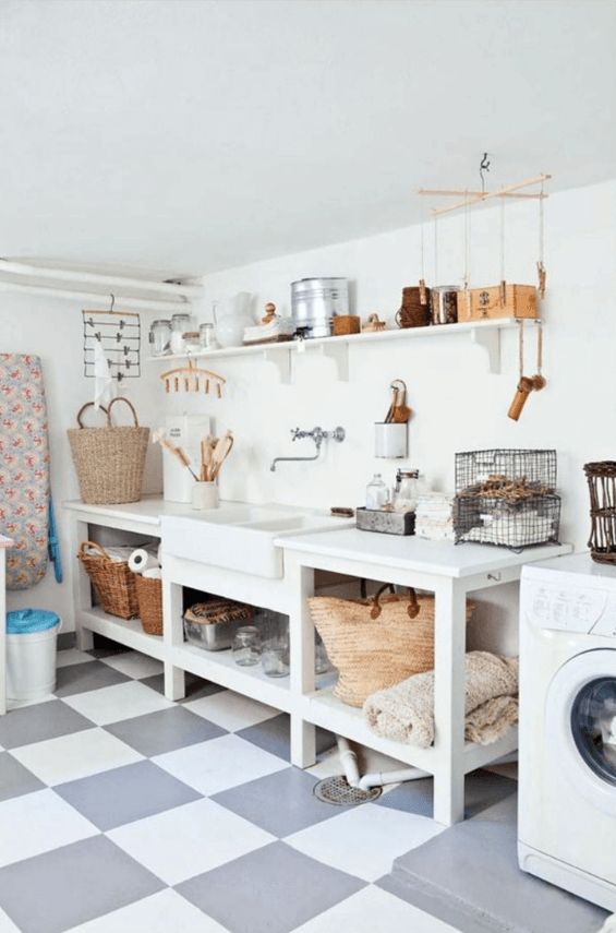 Les 25 meilleures id es de la cat gorie bacs laver sur - Meuble buanderie avec bac a laver ...