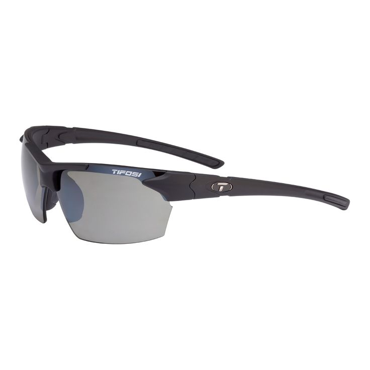 Tifosi Jet Single Lens Sunglasses - Matte Black - https://www.boatpartsforless.com/shop/tifosi-jet-single-lens-sunglasses-matte-black/