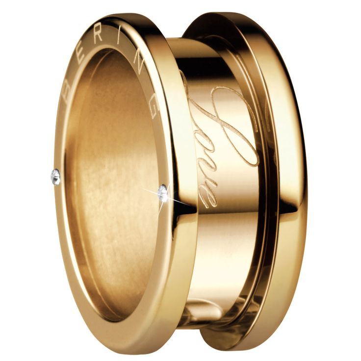 Bering Artic Symphony:  Interchangeable rings-  this is the golden outer ring.