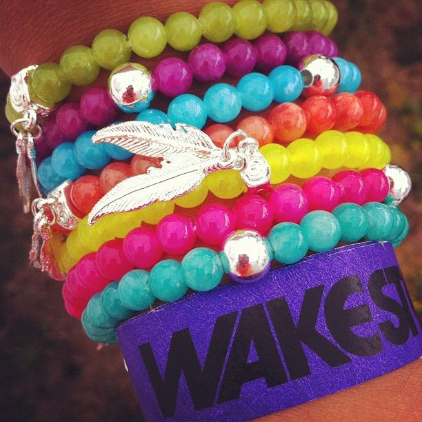 It's a #wakestock #armparty ! 3 cheers for colour!