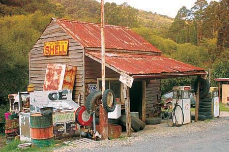Petrol Station- wood's point