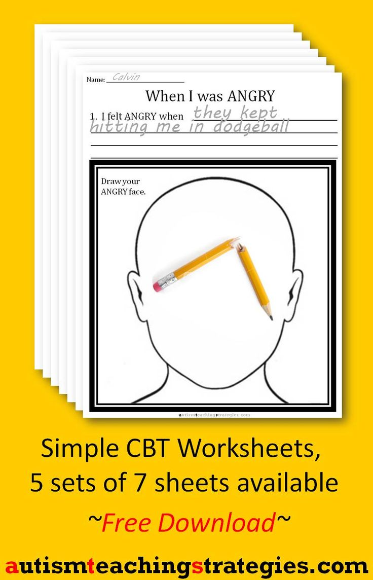 144 best OT Mental Health Worksheets/Printables images on ...