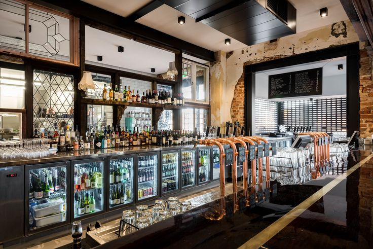 The Guildford Hotel Custom Made Bar & Refrigeration by Practical Products Perth WA