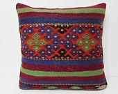 24x24 kilim pillow 24x24 large pillow case euro sham euro pillow case large couch pillow large rug large throw pillow euro pillow sham 25482