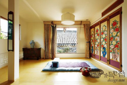 Inside hanok, Korean traditional house