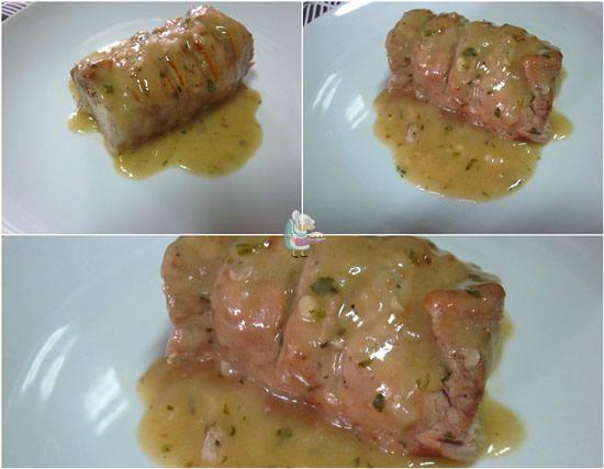 Receta fácil de solomillo de cerdo con salsa al orégano