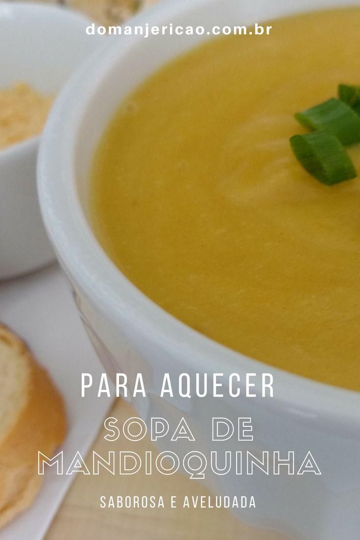 Aprenda a preparar essa deliciosa e facílima sopa de mandioquinha, super rápida e aquece muito bem nos dias de inverno
