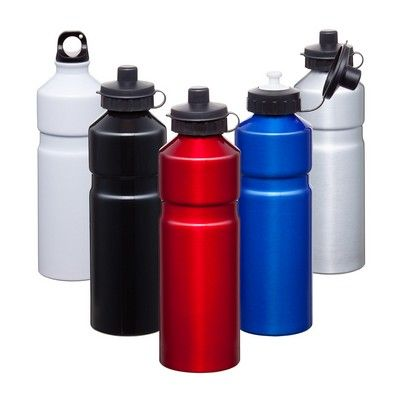 Tour Aluminum Drink Bottle Kit Min 25 - For all your sporting activities and drinks on the go, PROMOSXCHANGE can brand drink bottles and sports bottles easily with your logo. Call 1800 PROMOS (776 667) - IC-D5301 - Best Value Promotional items including Promotional Merchandise, Printed T shirts, Promotional Mugs, Promotional Clothing and Corporate Gifts from PROMOSXCHAGE - Melbourne, Sydney, Brisbane - Call 1800 PROMOS (776 667)