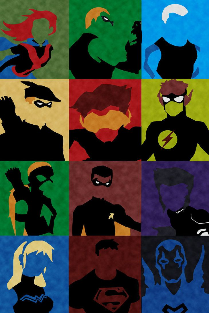 Young Justice Minimalist by BillDGraphics.deviantart.com on @DeviantArt