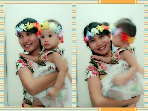 Mom and daughter matching outfits.. Yeaayyy...