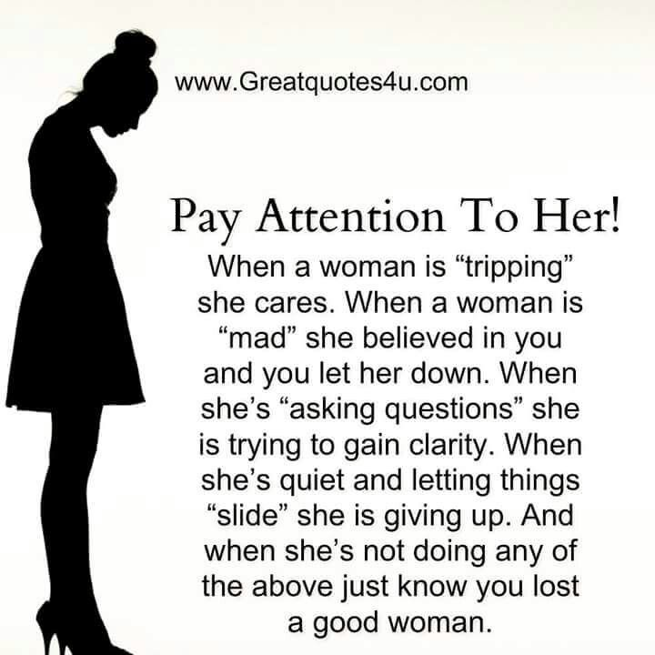 Pay attention the signs are there
