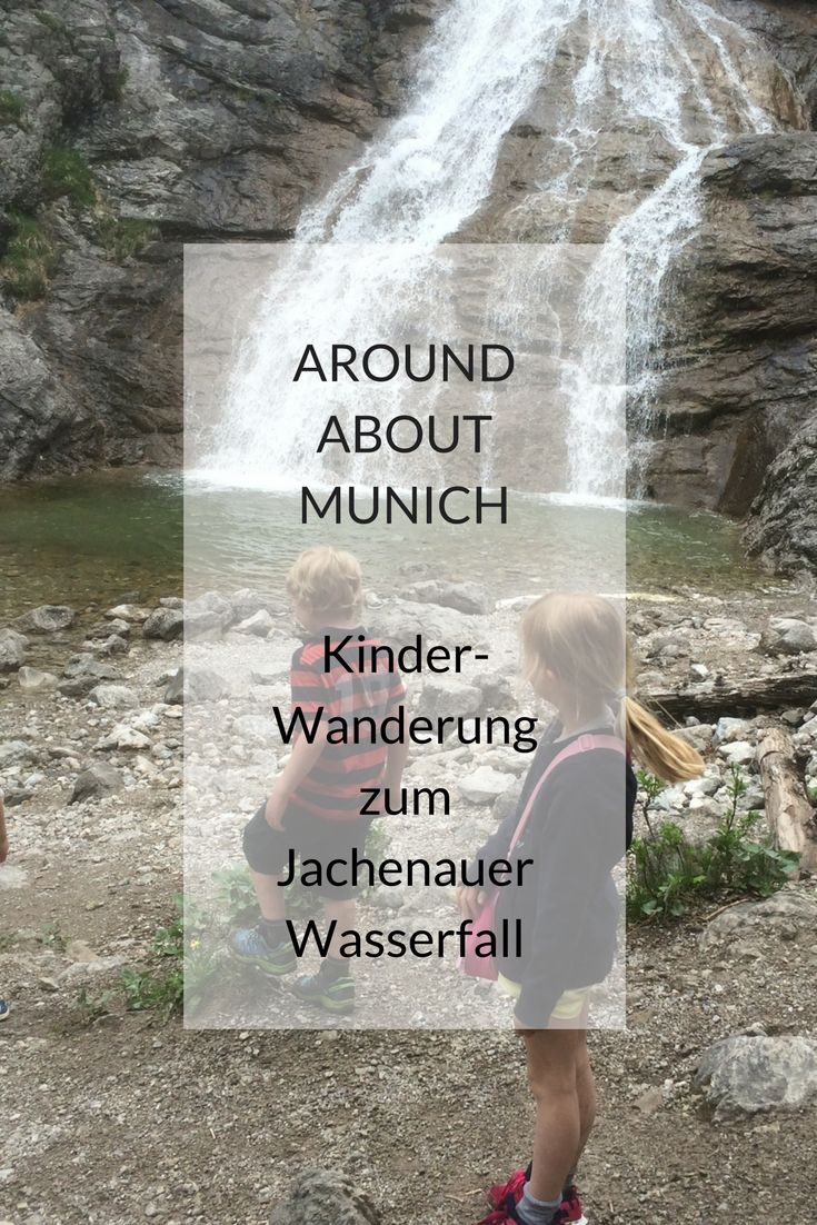 Dreamy Jachenau in Sonnental, Tölzer Land, Bavaria: Family hike to the waterfall.