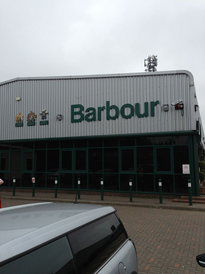 Barbour Factory Shop in Jarrow, South Tyneside