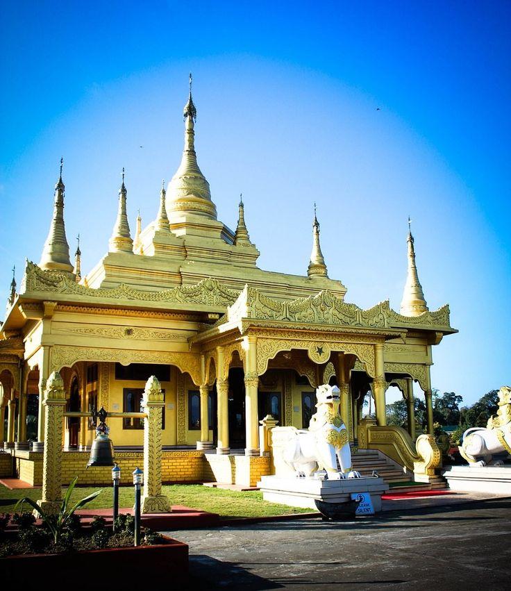 Golden Pagoda, Namsai ( Arunachal Pradesh) Built by