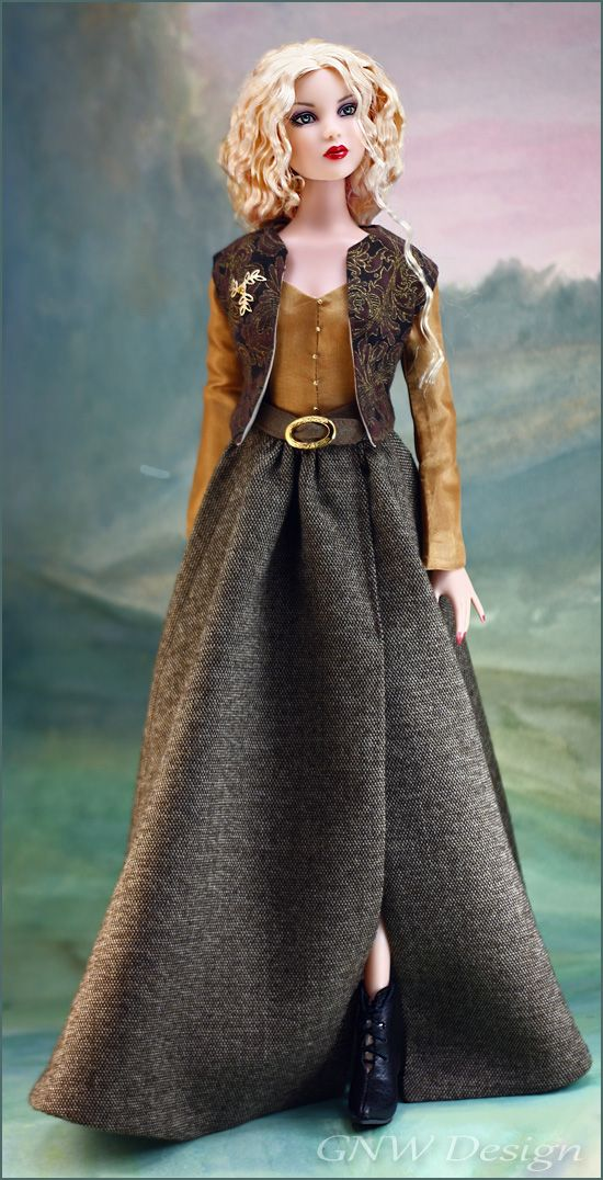 LUAIDH (Loved One), inspired by the book and television series Outlander - for Tonner's Antoinette and Cami Sized Dolls by greatnorthwoodsdesign.com