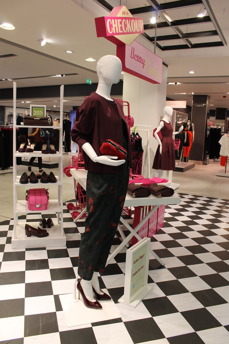 Blogger Modern Mum Must Have styled this mannequin as part of the Berry Pink trend. Love the style? #Fblogger #Fashion #Style