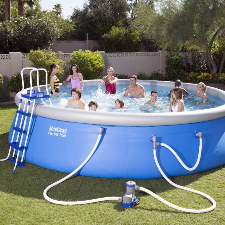 17 mejores ideas sobre filtro para piscina en pinterest for Above ground pool setup ideas