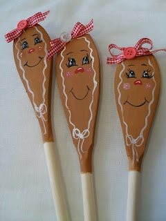 Cottage Creative Living by Egretta Wells: Painted Wooden Spoons