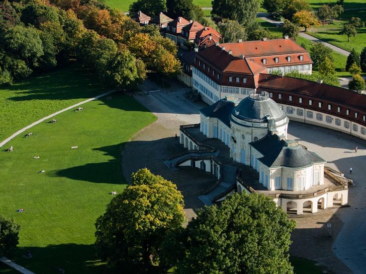 Ideal Schloss Solitude bei Stuttgart