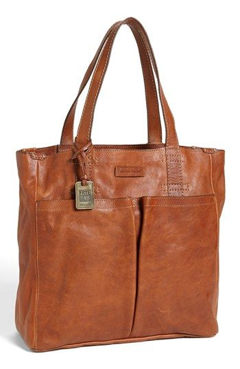 Frye 'Artisan' Two Pocket Tote | Nordstrom .. i'm in love