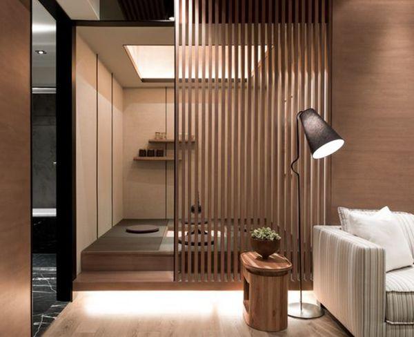 Henco Furniture Interior Design Pt ~ Ambientes com ripas de madeira para te inspirar