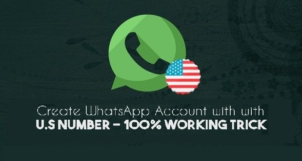 How to Create Whatsapp Account With U.S. Number (Latest Working Method)