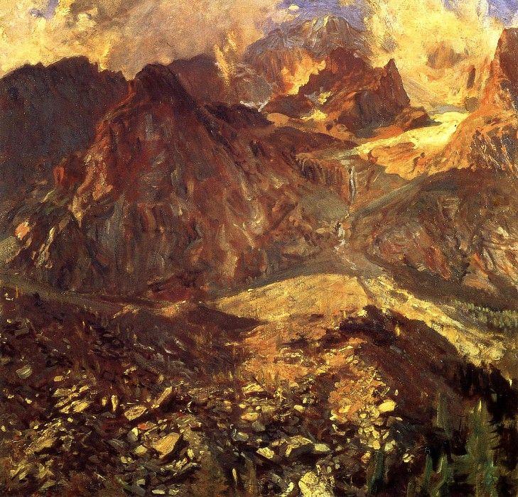 Val dAosta 1907. Джон Сингер Сарджент