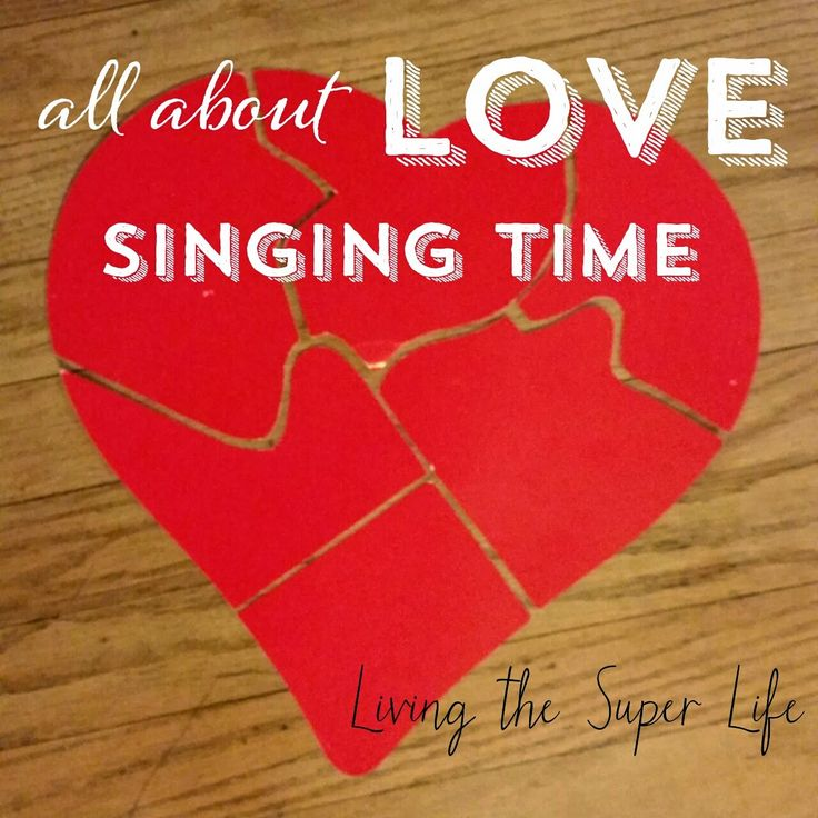 Living the Super Life: Valentine's Day Primary Singing Time- super easy. Make heart puzzle, hide pieces around room. List of songs & LOVE statements on blog.