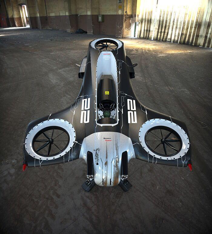 Eine Drohne
