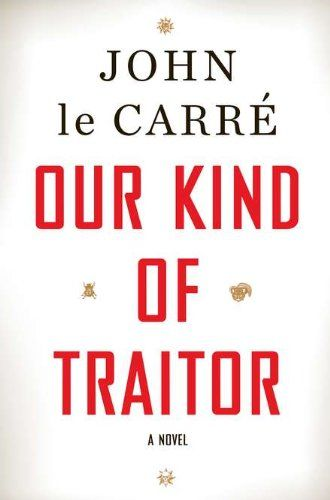 "John le Carré is to spy fiction what Lindsay Lohan is to TMZ. It's hard to imagine one without the other. He is the papa of cold war spy novels. In ""Our Kind of Traitor,"" le Carré may not bring back the old-school secret agent, but he'll certainly warm the hearts of those of us who long for the era before Jack Bauer.  Characters go on tennis holiday. Spies sing from ""La Traviata"" while cooking. Everyone speaks French. And Britain is a major player in a global conspiracy."