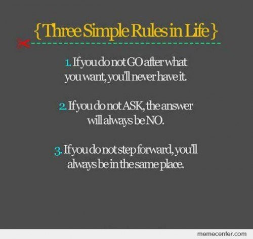TruthLife Quotes, Remember This, Life Rules, Life Lessons, Simple Rules, Lifequotes, Keep Moving Forward, Three Simple, Inspiration Quotes
