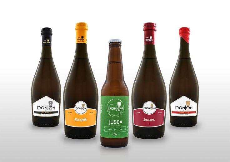 Birre Donjon Labels