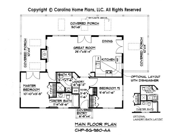 Small Contemporary Cottage House Plan Sg 980 Sq Ft