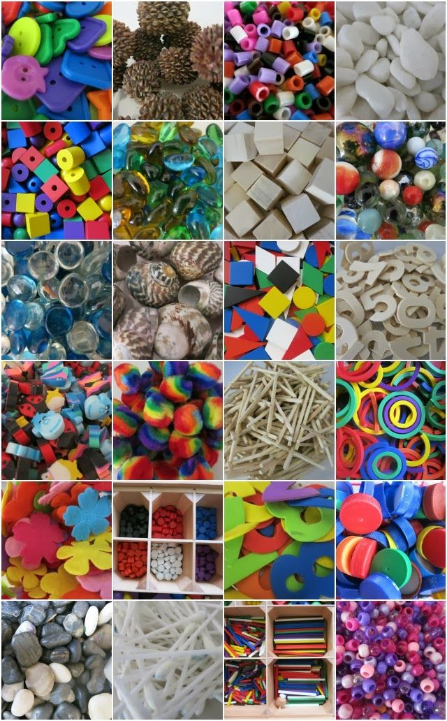 "Learn with Play at Home: Using Loose Parts for Play. Learning Naturally A child's need to be creative, to think ""outside the box,"" to experiment and to control their play and learning while adapting it to their own interests."