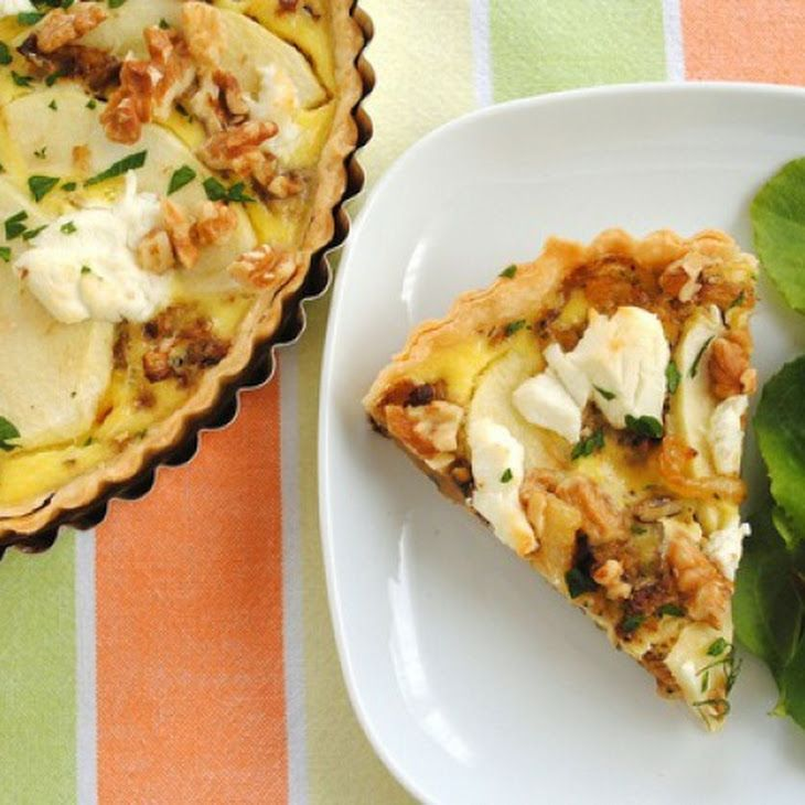 ... Fennel and Apple Tart   ~ Fennel ~   Pinterest   Fennel, Tarts and
