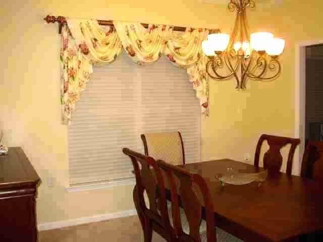 Dining Room Valance Ideas, Dining Room Valances