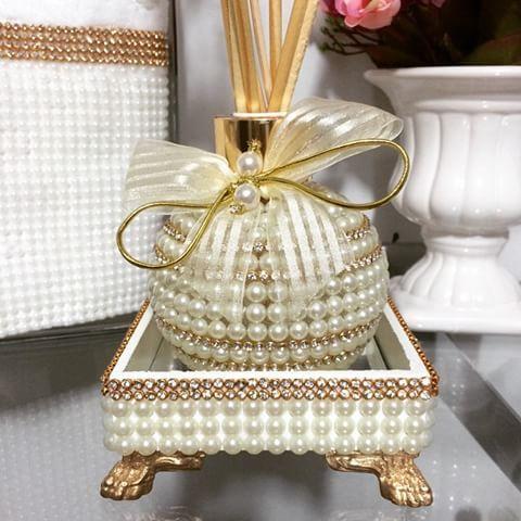 Lindo difusor de ambiente ball com bandejinha  para perfumar e decorar qualquer…                                                                                                                                                                                 Mais