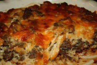 Cheeseburger Paradise Pie Recipe ~ otherwise known as Dump Casserole