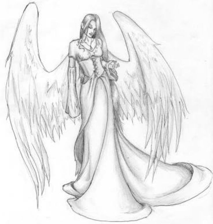 karakalem draw drawing tumblr pencil charcoal woman artwork angel fallen wing wimgs beatiful art melek kadın kolay çizim