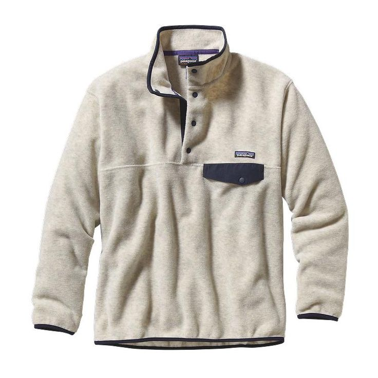 The pullover that made fleece famous, made of warm and durable Synchilla® heavyweight polyester fleece with our classic Snap-T® pocket and placket.