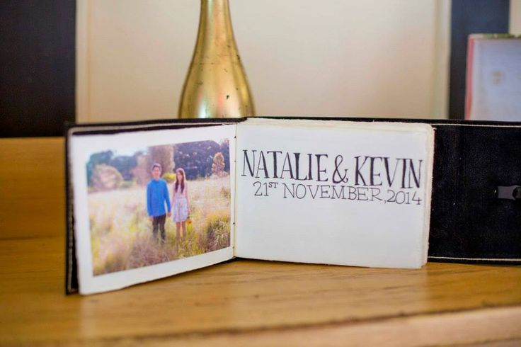 Natalie & Kevin - Hand lettering by Bee. Photography by Mint Photography