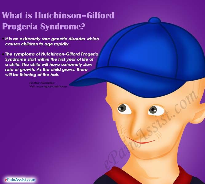 What is Hutchinson–Gilford Progeria Syndrome?