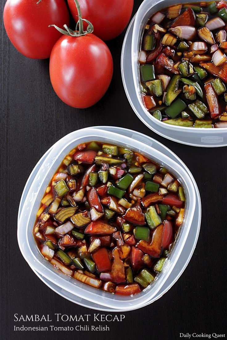 Sambal Tomat Kecap – Indonesian Tomato Chili Relish
