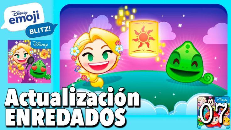 Actualización Enredados / Juego Disney Emoji Blitz - Gameplay