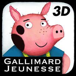 Trois petits cochons - Ipad - Albums Gallimard Jeunesse - Livres pour enfants - Gallimard Jeunesse Beautiful interactive book about the Three Little Pigs.