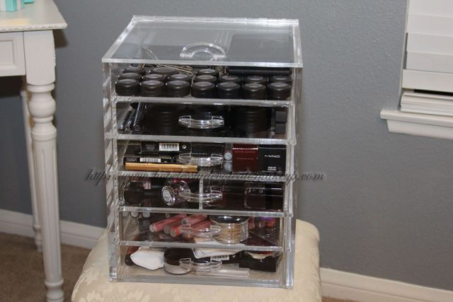 Cube Organizer Devoted To Makeup My Cosmetic Storage Solution